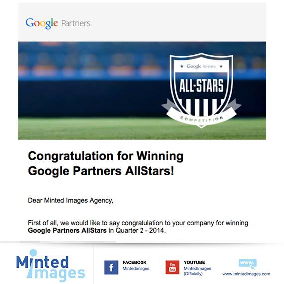 Winning Google Partners AllStars!